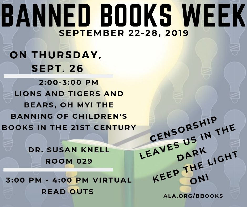 Banned Books week events
